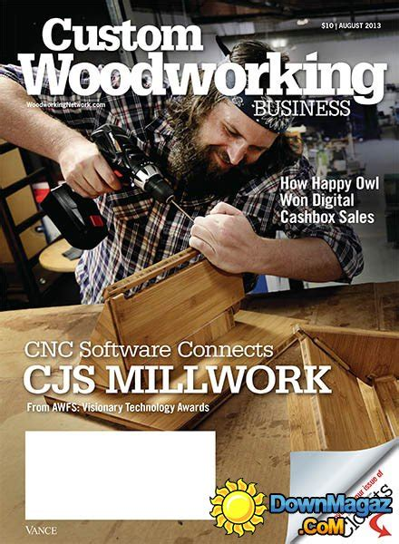 custom woodworking business custom woodworking business august 2013 187 pdf