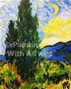 paint with a twist cypress 31 best painting with a twist images on canvas