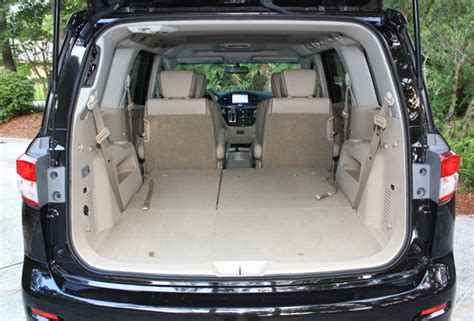Minivan Cargo Space by 2011 Nissan Quest 3 5 Lw Ridelust Reviewbig Story News