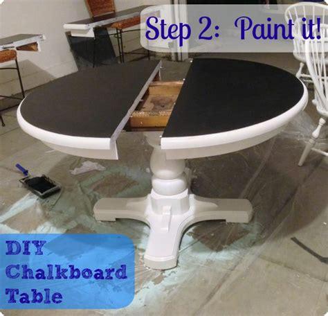 chalkboard paint kitchen table best 25 chalkboard table ideas on chalkboard