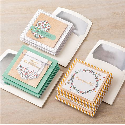 Cottage Greetings Card Kit Sting With Tracy
