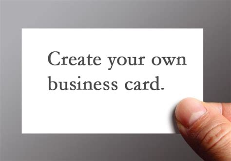 free make your own business cards business cards free design your own gallery card design