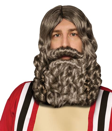 beard accessories biblical wig and beard set misc accessories