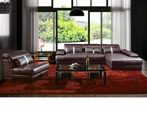 contemporary sectional leather sofa dreamfurniture boston contemporary leather sectional