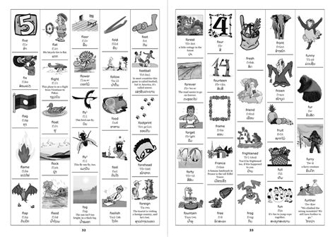 vocabulary picture book sle pages from the book the picture dictionary