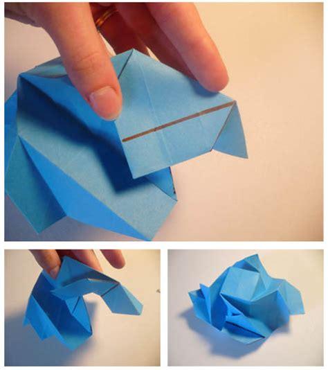 Cara Membuat Origami Bunga Mawar Biru Tutorial Kerajinan