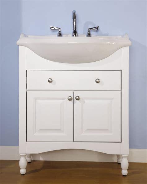 narrow bathroom sink vanity 30 inch single sink narrow depth furniture bathroom vanity