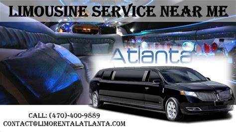Limousine Service Near Me by Limousine Service Near Me Limo Rental Atlanta