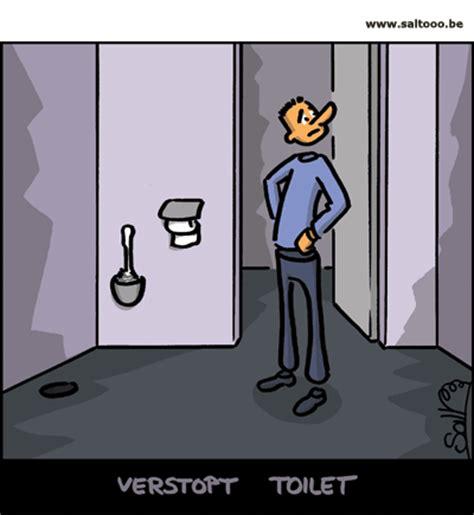 Toilet Leiding Verstopt by Cartoon Help Het Toilet Is Verstopt