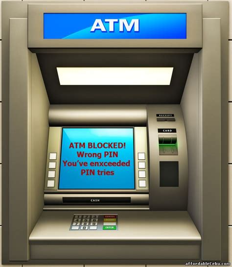 How To Unblock The Blocked Atm Card In The Philippines