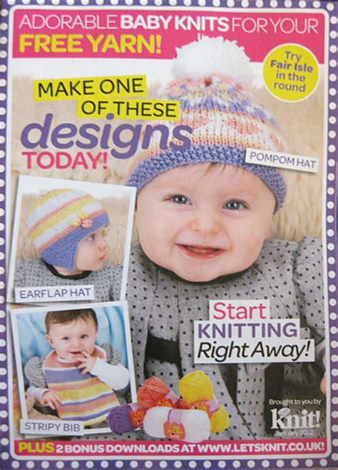 baby knitting magazine ravelry let s knit magazine 50 january 2012 adorable