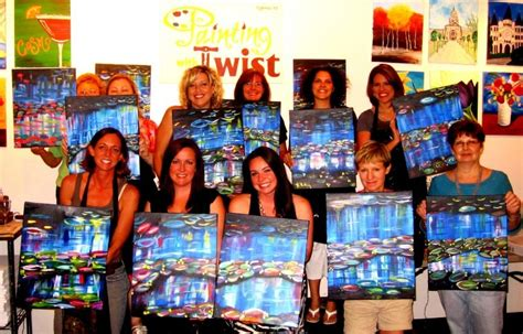 paint with a twist houston painting with a twist cypress offers discount to teachers