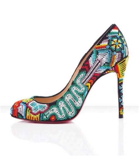beaded shoes beaded shoe design beaded objects patterns
