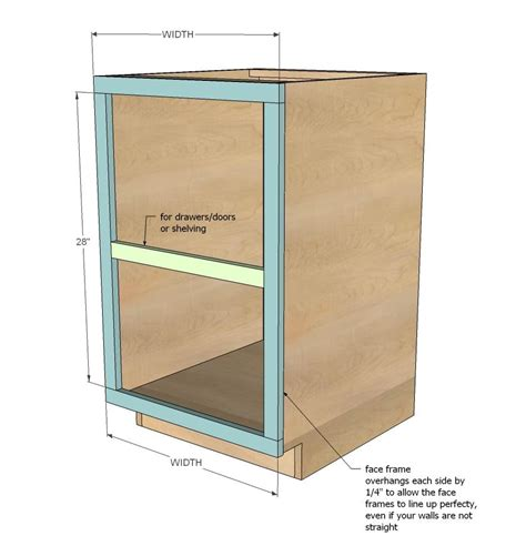 kitchen cabinet plans woodworking diy projects frame base kitchen cabinet carcass