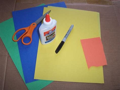 crafts with construction paper and glue our crafts n things 187 archive 187 duck pond