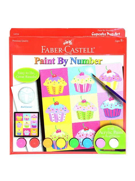 acrylic paint faber castell faber castell paint by number with acrylic paint kits