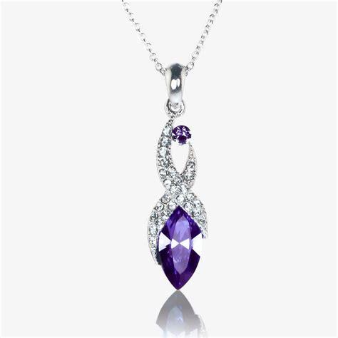 swarovski jewelry biarritz necklace made with swarovski crystals