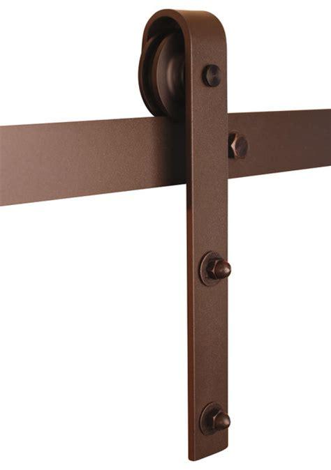 barn door and hardware classic barn door hardware kit bronze 5ft track for 30
