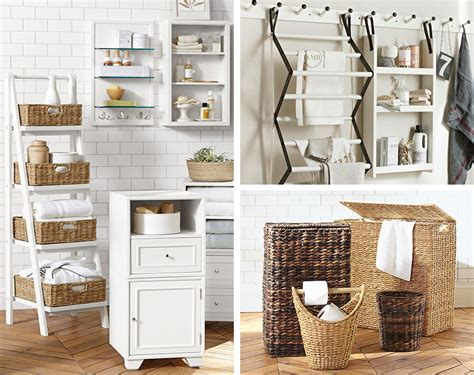 bathroom towel storage ideas 9 clever towel storage ideas for your bathroom pottery barn