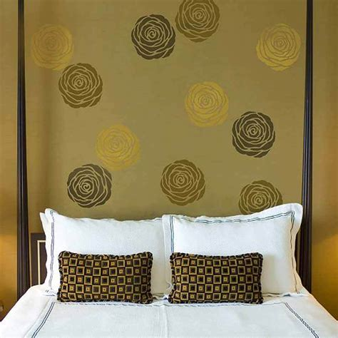 wall stencils for bedroom floral wall stencil small floral diy