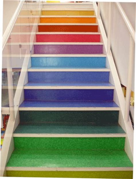 chalk paint retailers edmonton rainbow stairs rainbow colored stairs at deserres craft