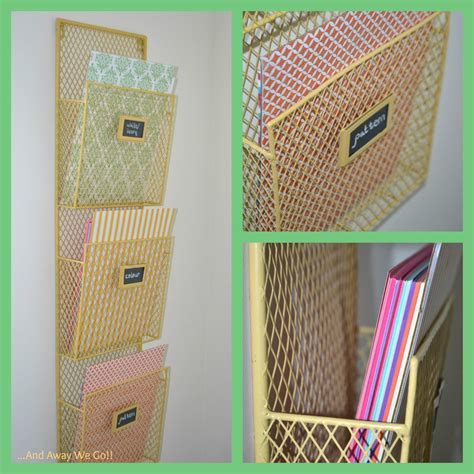 paper craft stores and away we go organizing craft supplies card stock