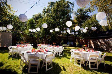 backyard decorating ideas for backyard wedding decoration ideas marceladick