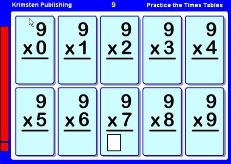 how to make multiplication flash cards course mr rich technology