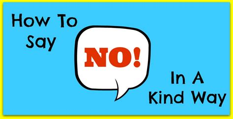 how to say how to say no in a way with rofe rof 233