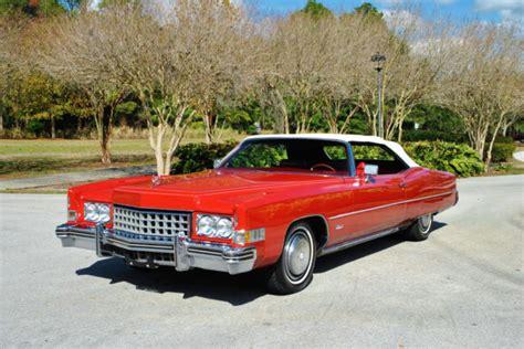 73 Cadillac Eldorado Convertible by 73 Cadillac Eldorado Convertible 500 V8 Stunning Just