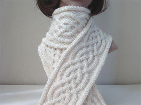 celtic knitting patterns free knitting pattern scarf celtic scarf by crochetshopcarolina