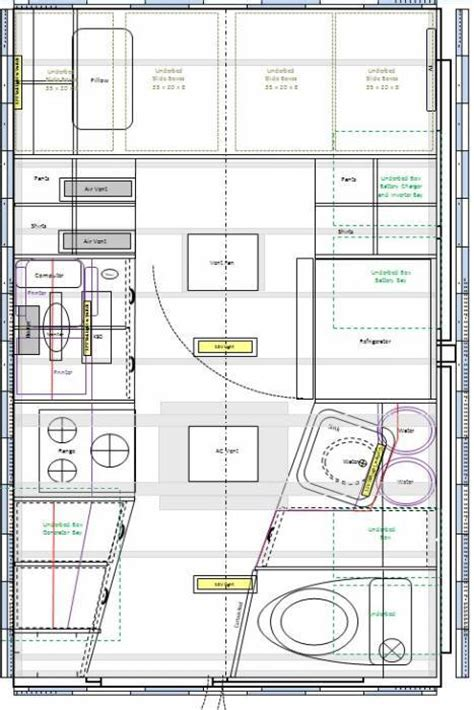 diy floor cer trailer plans rv conversion floor plans 28 images layout of pop top