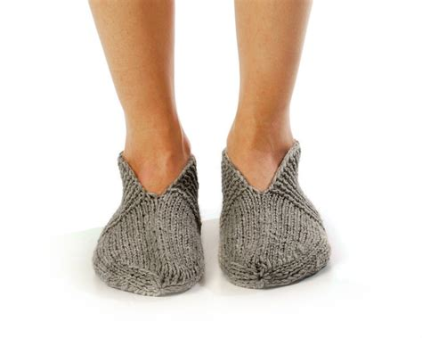 knit slipper socks slipper socks pleasant evening knitted