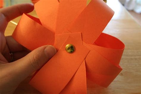 paper fastener crafts used ca two easy pumpkin crafts used ca