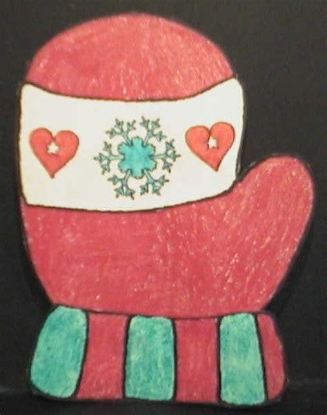 mitten crafts for winter mittens paper craft
