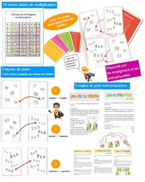 10 232 res d apprendre les tables de multiplication autrement et efficacement