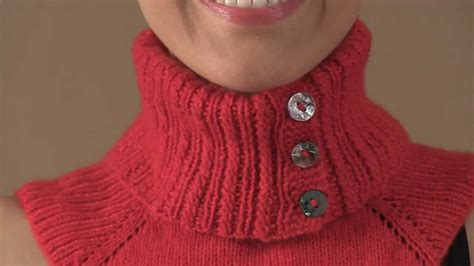 how to knit collar 31 pop collar dickey 32 lace panel dickey 33