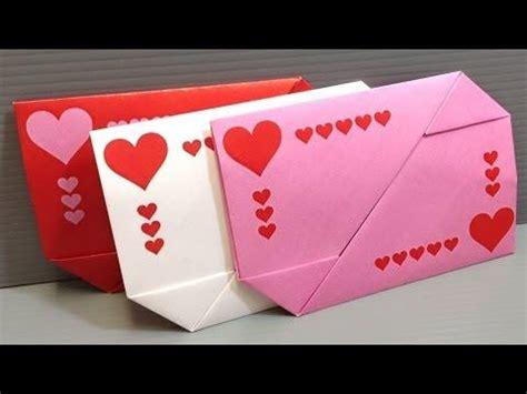 origami secret box diy origami box envelope secret message