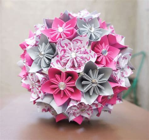 flower craft paper 12 step by step diy papers made flower craft ideas for