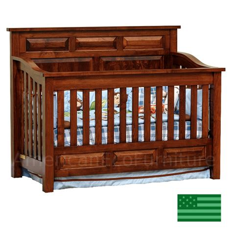 baby cribs made in america amish peyton 4 in 1 convertible baby crib solid wood