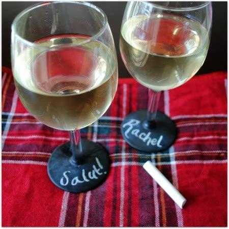diy chalkboard label wine glasses thirsty thursday diy chalkboard wine glasses