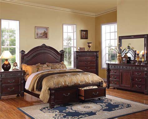 brown bedroom furniture sets rich brown bedroom set vevila by acme furniture ac20500set