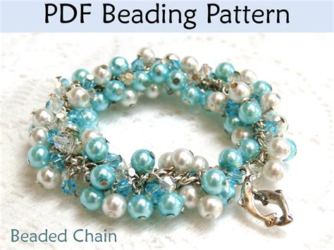 beading tutorials beading tutorial pattern bracelet necklace wire working