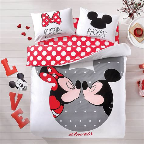 minnie mouse bedding sets absolutely lovely mickey and minnie mouse bedding set
