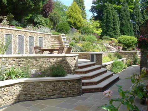 garden wall stones wall in guildford pc landscapes