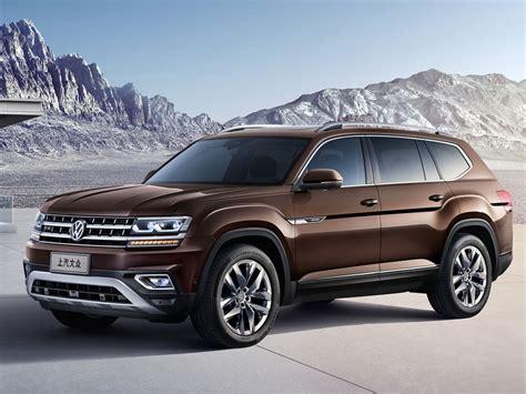 Volkswagen New by New Volkswagen Teramont Is China S Atlas Suv Carscoops