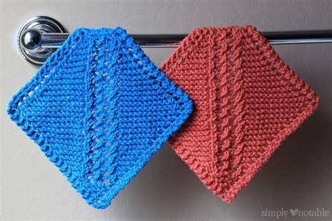 free knitting patterns dish cloths grandmother s diagonal lace knitting pattern knitting