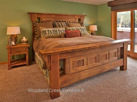 rustic bedroom furniture set barnwood bedroom furniture reclaimed wood rustic