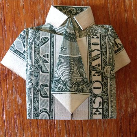 origami shirt folding dollar bill origami shirt and tie