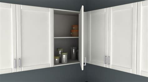 ikea kitchen cabinet hacks ikea kitchen hack a blind corner wall cabinet for